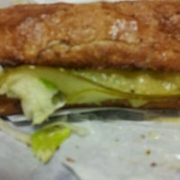 Photo taken at Potbelly Sandwich Shop by Veza M. on 3/23/2012
