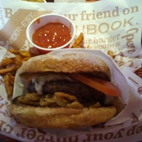 Photo taken at Red Robin Gourmet Burgers by Natalie S. on 6/24/2012