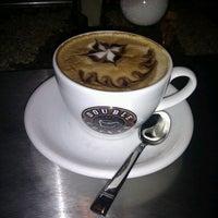 Photo taken at Double Coffee by Jevgenijs B. on 1/5/2012