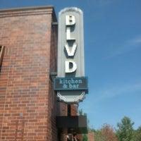 Photo taken at Blvd Kitchen & Bar by Edward S. on 8/21/2012