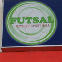 Photo taken at Mayasari Futsal by Deny B. on 12/2/2011