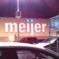 Photo taken at Meijer by Jeff C. on 12/29/2010