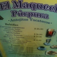 Photo taken at El Maquech Púrpura by Efrenn E. on 8/25/2012