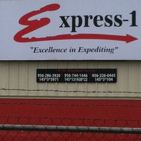 Photo taken at Express-1 Warehouse by Tracie R. on 3/10/2012