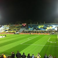 Photo taken at Bloomfield Stadium by Ido Z. on 2/28/2011