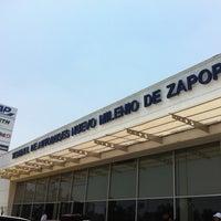 Photo taken at Terminal de Autobuses Nuevo Milenio de Zapopan by Lic. Felipe E. on 5/18/2012