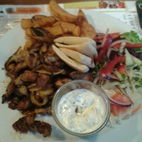 Photo taken at Neklid Restaurant by Miroslav O. on 4/18/2012
