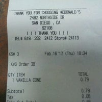 Photo taken at McDonald's by Ronald's M. on 2/17/2012