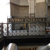 Photo taken at MTA Subway - Brooklyn Bridge/City Hall/Chambers St (J/Z/4/5/6) by Forrest on 7/22/2012