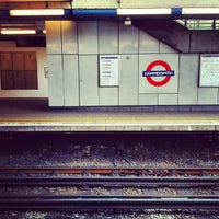 Photo taken at Hammersmith London Underground Station (District and Piccadilly lines) by Ming Y. on 3/6/2012