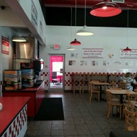 Photo taken at Five Guys by Neko A. on 1/20/2012