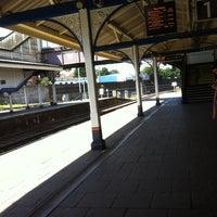 Photo taken at Fratton Railway Station (FTN) by Rahul U. on 7/25/2011