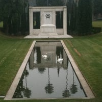 Photo taken at Hollywood Forever Cemetery by Julie H. on 11/18/2011