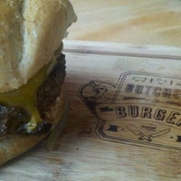 Photo taken at Butcher & The Burger by Janet H. on 10/26/2011
