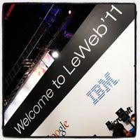 Photo taken at LeWeb'11 by Charles N. on 12/7/2011
