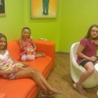 Photo taken at Orange Leaf Frozen Yogurt by Denise M. on 9/4/2011
