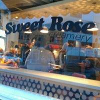 Photo taken at Sweet Rose Creamery by ShoppingandInfo M. on 7/19/2012