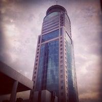 Photo taken at Burj Jassem   برج جاسم by Huda A. on 2/6/2012