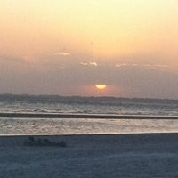 Photo taken at Fort Myers Beach by Lauren B. on 3/6/2012