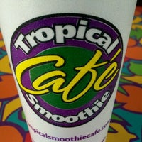 Photo taken at Tropical Smoothie Café by Michael R. on 4/22/2012