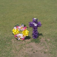 Photo taken at Kechi Cemetery by Trina R. on 6/8/2012
