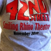 Photo taken at Smiling Rhino Theatre by Melody L. on 3/6/2011