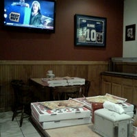 Photo taken at High 5 Star Pizza by Chris M. on 12/21/2011