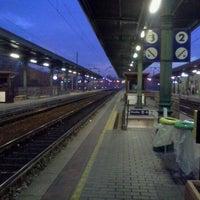 Photo taken at Stazione di Mantova by Simon L. on 11/23/2011