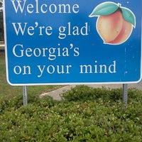 Photo taken at Florida / Georgia State Line by Shannon G. on 4/16/2011