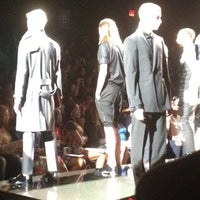 Photo taken at The Stage At MBFW by Catherine V. on 9/6/2012