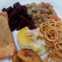 Photo taken at Restaurante Q.Luxo by Letícia K. on 8/2/2012