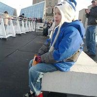 Photo taken at Brenton Skating Plaza by Jamie H. on 1/29/2012