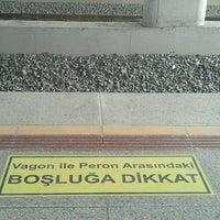 Photo taken at İzban Mavişehir İstasyonu by Sercan on 7/14/2012
