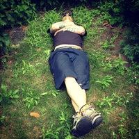 Photo taken at Georgen-Parochial Friedhof II by Rachel S. on 7/9/2012