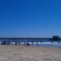 Photo taken at Newport Pier by Chad L. on 7/29/2012