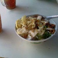 Photo taken at Bubur Ayam Syarifah Jakal by Viram Y. on 2/11/2012
