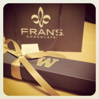 Photo taken at Fran's Chocolates by Bryden M. on 6/6/2012