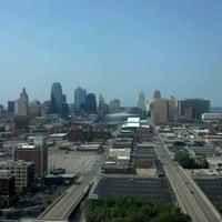 Photo taken at Sheraton Kansas City Hotel at Crown Center by Nick S. on 6/30/2012