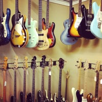 Photo taken at Austin Vintage Guitars by Megan Nicolle N. on 7/16/2012