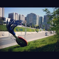 Photo taken at Olympic Sculpture Park by Kate K. on 5/6/2012