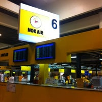 Photo taken at Nok Air (DD) Domestic Check-In Area by Tada S. on 5/5/2012
