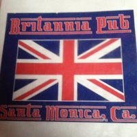 Photo taken at The Britannia Pub by Cory R. on 2/20/2012