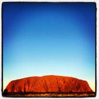 Photo taken at Uluru by Johnny B. on 5/15/2012