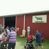 Photo taken at Goshen Fairgrounds by Courtney M. on 9/3/2012