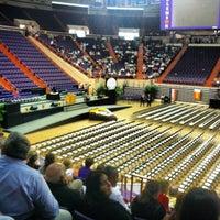 Photo taken at Littlejohn Coliseum by Gabriela C. on 5/11/2012