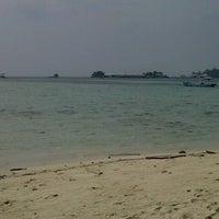 Photo taken at Pulau Karya by ennoo g. on 7/15/2012