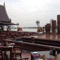 Photo taken at Anantara Bangkok Riverside Spa & Resort by Auttasit T. on 1/14/2012