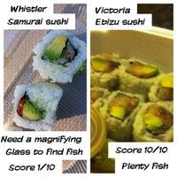 Photo taken at Samurai Sushi by Melissa L. on 9/3/2012