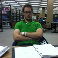 Photo taken at Roesch Library by Katlyn L. on 11/10/2011