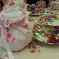 Photo taken at Victoria Rossa English Tea Room by Belinda T. on 5/7/2012